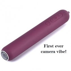 Siime Eye Wireless Lighted Camera Vibe - Violet Sex Toy