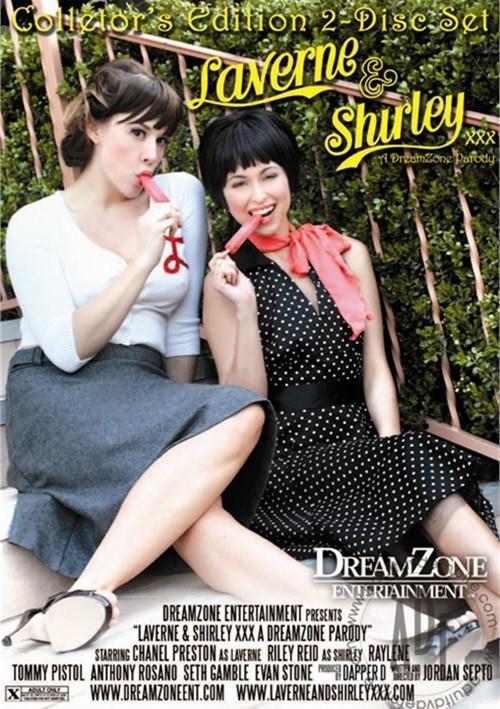 Laverne & Shirley XXX: A Dreamzone Parody Boxcover