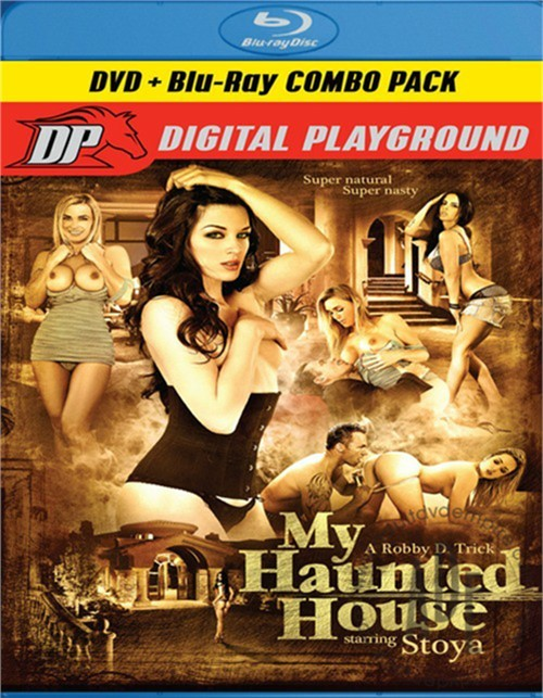 My Haunted House (DVD + Blu-ray Combo) Boxcover