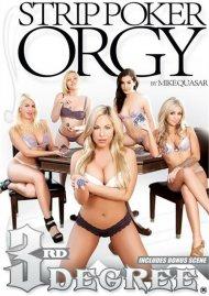 Strip Poker Orgy:  Strip Poker Orgy Porn Video