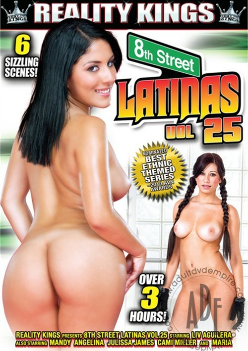 8th Street Latinas Vol. 25 Boxcover