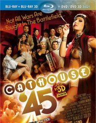 Cathouse 45 in 3D (Blu-ray + Blu-ray 3D + DVD/DVD 3D):  Cathouse 45 in 3D (Blu-ray + Blu-ray 3D + DVD/DVD 3D) Blu-ray Porn Video