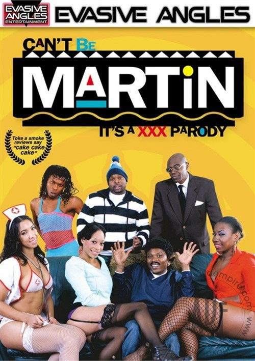 Can't Be Martin: It's A XXX Parody Boxcover