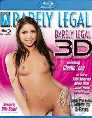 Barely Legal 3D:  Barely Legal 3D Blu-ray Porn Video