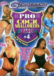 Pro Cock Swallowers League 4 Porn Video