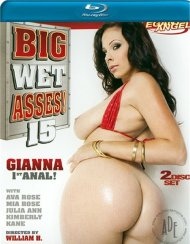 Big Wet Asses #15:  Big Wet Asses #15 Blu-ray Porn Video