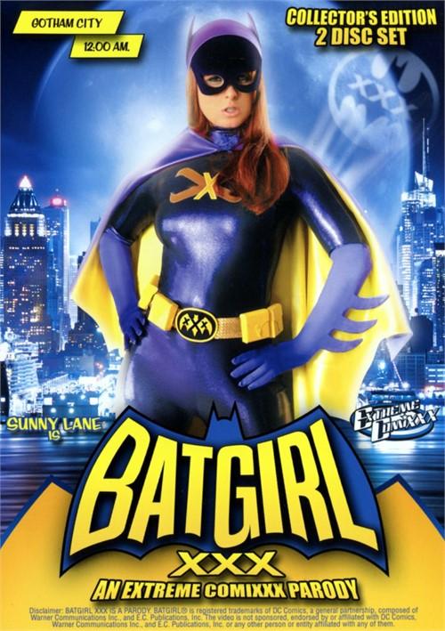 Batgirl XXX: An Extreme Comixxx Parody Boxcover