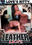 Black Lesbian Leather Licks Porn Video
