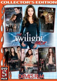 Twilight Pack 5 Pack, The:  Twilight Pack 5 Pack, The Porn Video