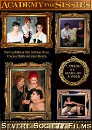 Academy For Sissies Lesson 1: Make-Up & Wigs Porn Video